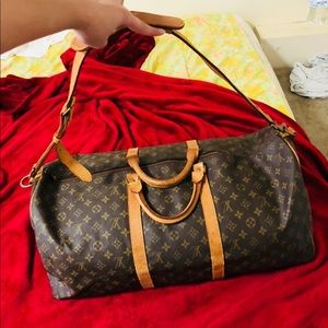 Authentic LV Bandouliere Keepall 60 Vintage